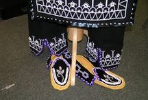 our beadwork- Iroquois Raised Embossed Beadwork / by dollface