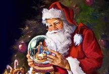 Christmas:  SANTAS - BABBO NATALE