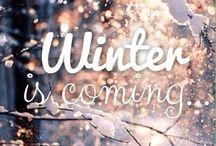 Winter / Wrap up warm.  / by Alexandra Hayler