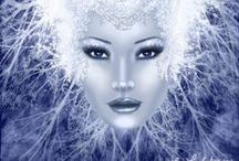 FANTASY: snow queen -  magic winter