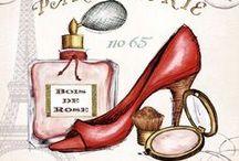 ILLUSTRAZIONI shoes scarpe vecchie stampe