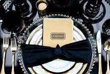 Black & Gold  / Classy & Timeless Black & Gold