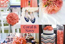 Charming Coral Wedding Ideas / Coral Wedding