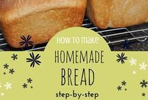All about baking / I love baking and making things homemade.  Bread is my favorite but anything that fills my home with wonderful aromas works for me.