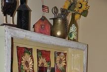 All about country decorating / Bringing a splash of country decorating in a home can add a sense of comfort, and home like no other decorating style.