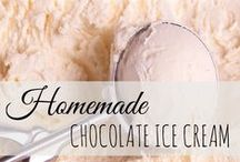 All about homemade icecream / Ice cream is my downfall!  There is nothing as good as a bowl on homemade ice cream on a hot muggy South Carolina day!