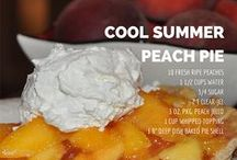 All about peaches / If you live in South Carolina like we do you have to love peaches!  We love them canned, in pies, in ice cream, but most of all right off the tree with juice dripping down your arm.