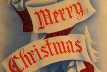 christmas: Vintage card