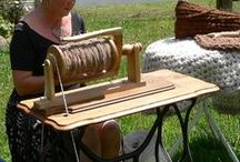 All about spinning fiber / There is nothing as relaxing as sitting in front of my spinning wheel for hours.  The time just flies by when I am spinning.