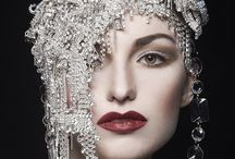 Art Deco/Great Gatsby-esque Couture and Style / Art Deco Couture and Style, Beauty, Makeup, Hair and more.