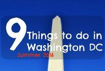 Washington DC Bucket List / Things to do and Places to see in Washington DC - Smithsonian  Museum, Zoo, Monuments, library of Congress and More! Traveling to Washington DC.