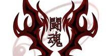 Samurai / Warrior - Kanji tattoos