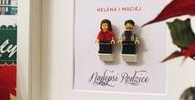 Ramki LEGO - handmade