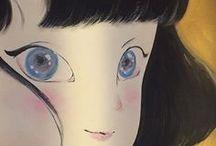 Original Artwork Japanese Pop Art