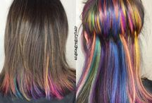Hair: bright colours