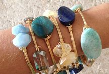 Jewelry: bracelets and cuffs