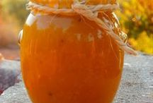 Foods: marmalade and sauces