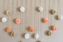 Diy: home: garland/ tapestry