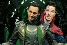 Loki and Sherlock
