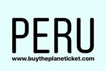 Peru / This board is all about Peru! What to do in Peru, where to go in Peru and great travel tips for when you go to Peru!