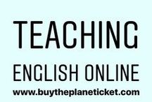 Teaching English Online / This board is all about teaching English online!