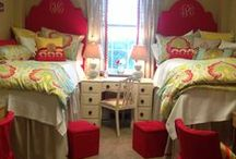 DORM INSPIRATION / A collection of ideas for a girl's dorm room / by Polly W