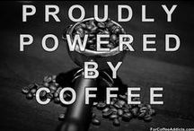 Coffee Slut...Yes, I am!! / Let y'all know there is 7 other Coffee Boards... Art-Coffee, Recipe-Coffee, Coffee Pots, Maker & Grinder,  Coffee Bars & Cups, Coffee Building Signs and Ads, Coffee Info & Items, and Coffee Tins. / by Brkn Dempsey