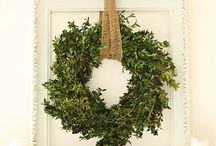 Wreaths / by Mrs.Day