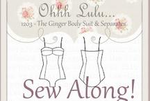 Ginger Swimsuit Sew Along