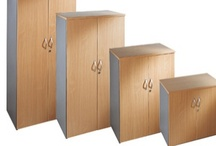 Office Cupboards / Take a look at our fantastic variety of metal cupboards and wooden cupboards. At Furniture At Work™, we offer an exceptional array of storage cupboards which have been designed for a range of needs, and at prices to suit all budgets.