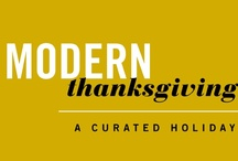 Modern Thanksgiving / Entry for Dwell Studio #ModernThanksgiving.  Theme: Glitz & Glamour. Classic B&W decor with golden metallic accents. Oh so classically modern.