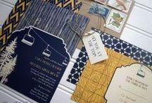 Wedding Stationery / Fun and creative wedding stationary.  / by Alexan Events Colorado Wedding Planner