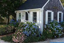 Seaside Cottages / Coastal Cottage Style