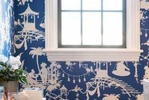 Classic Blue and White / Timeless blue and white / by Wendy Patrick Designs