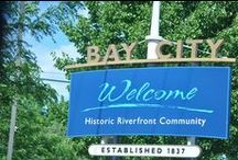 Beautiful Bay City, Michigan / The place that I call home.