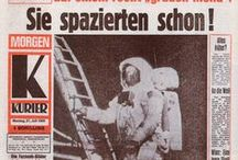 KURIER-Titelseiten / Zeitgeschichte zum Blättern: KURIER-Titelseiten damals und heute