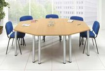 Meeting & Boardroom Tables / If you're looking for high quality #meeting room tables at affordable prices, Furniture At Work™ has everything you need. We have a fantastic selection of #boardroom and meeting tables that are ideal for a variety of #workplaces.