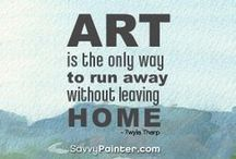 Artist Quotes / Inspirational quotes from artists and painters - to inspire and educate other artists.