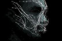 Digitalism / Design digital technologic holographic