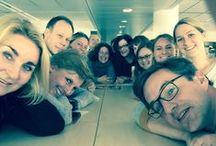 Selfies / Der Name ist Programm. Die vielen verschiedenen Teams des #KURIER im Selbstporträt.