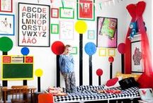 KIDS LIVING SPACES / A collection of amazing kid's living spaces and rooms / by The Happy Youngsters | Creative Family Living