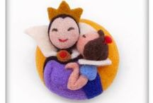 Daddy Wool / Needle Felted Wearable Creations