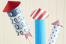 KIDS JULY 4TH / July fourth ideas, crafts and recipes for kids / by The Happy Youngsters | Creative Family Living