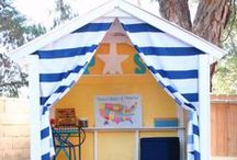 KIDS OUTDOOR SPACES / Outdoor spaces for kids / by The Happy Youngsters | Creative Family Living