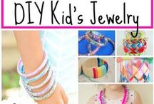 KIDS JEWELRY FUN / Fun jewelry for kids  / by The Happy Youngsters | Creative Family Living