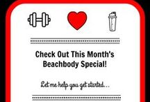 BeachBody Monthly Specials / SPECIALS!!! Whatever you like in your workout routines, Beach Body has an incredible workout program for you! Join the Challenge to a healthier YOU! Let's connect! Send an email to getfit2stayhealthy@gmail.com and let me know a little about your goals and lifestyle! We'll work together to pick the right program for you! If the special fits, try it today!!!  / by Get Fit 2 Stay Healthy