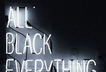 All Black Everything / Minimal Chic in All Black