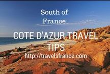 Côte d'Azur Travel Tips / Mediterranean Sea, Nice, Cannes, Cagnes sur Mer, villages in the mountains.