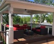 Custom Decks by Paul Construction & Awning / Custom decks and outdoor structures by Paul Construction and Awning