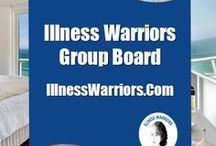 ** Illness Warriors Group ** / Want to join my Illness Warriors Group Board? Email me at illnesswarriors <at> gmail.com. Please stay on topic (no marketing or social commentary pins). Thank you.